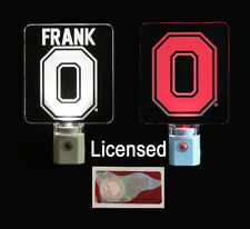 Personalized Ohio State Buckeyes Night Light - Fully Licensed Block O