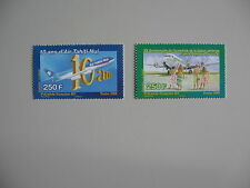 Verkeer/vliegtuigen, serie POLYNESIE (Fr), 2008, postfris/MNH, Zelden aang.