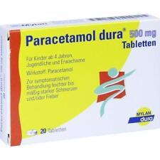 Paracetamolo dura 500 mg compresse 20 ST PZN 6714539