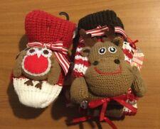 2 pairs Of Womens Novelty Christmas Bed Socks/Slipper Socks From Next **BNWT**