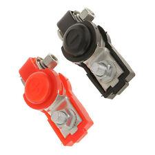 Adjustable Auto Car Battery Terminal Clamp Clips Connector Positive Negative 12V