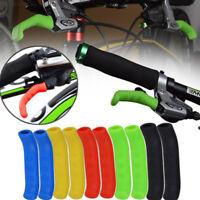 5C95 1 Pair Bicycle Road Bike Brake Lever Grip Protectors Non-Slip Rubber Covers