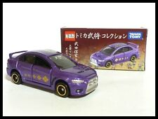 TOMICA Samurai Takeda Shingen Mitsubishi Lancer Evolution X 1/61 TOMY EVO 67 NEW