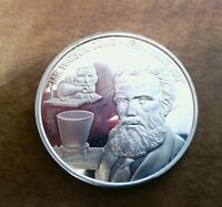 1 oz Sterling Silver round, invention of the telephone