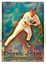 Derek Jeter 1998 Fleer Tradition Diamond Standouts Insert SP #9 of 20 DS YANKEES