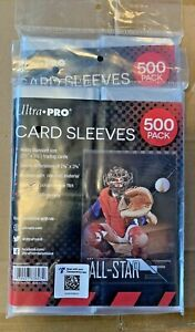 1000 Ultra Pro Standard Penny Soft Card Sleeves New Acid Free No PVC