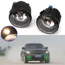 2X Front Fog Light Lamps For Infiniti G37 2010-2013 FX35 NISSAN Rogue Versa L+R