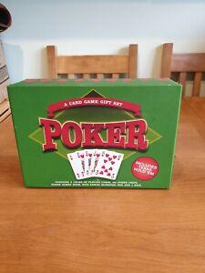 Poker Card Game Gift Set