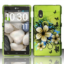 For AT&T LG Optimus G E970 HARD Case Snap On Phone Cover Hawaiian Flowers