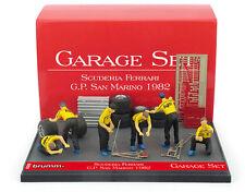 Brumm GS07 Garage Set - Ferrari San Marino GP 1982 - 1/43 Scale