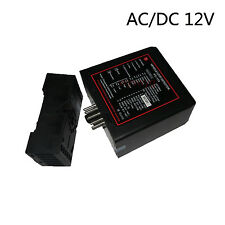 12V AC/DC Ground Sensors Traffic Inductive Loop Vehicle Detector Signal Control