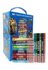 DK Tower Of Knowledge 16 Mini Fact Filled Encyclopedias Childrens Books