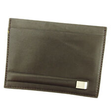 Auth Salvatore Ferragamo Card Case [unused] J 21448