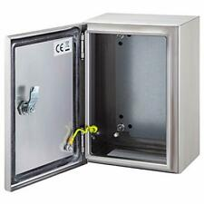 Vevor Steel Electrical Box 12 X 10 X 6 Electrical Enclosure Box 304 Stainl