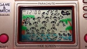 Nintendo game and watch. PARACHUTE!