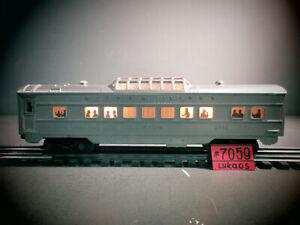 LIONEL POSTWAR 2432 CLIFTON ILLUMINATED VISTA-DOME PASSENGER CAR  .