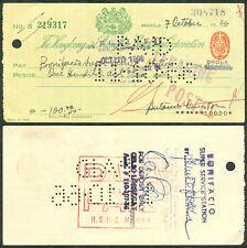 1966 Philippine Hong Kong and Shanghai Banking Corp HSBC (China) Check
