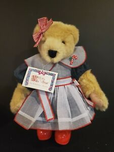 """Vintage 13""""  Fluffy VanderBear-Tree Trimming Collection 1989 North Am Bear Co."""