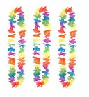 100cm Hawaiian Lei Tropical Flower Garland Necklace Hen Night Party Fancy Dress