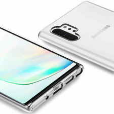 For Samsung Galaxy NOTE 10 PLUS Case Clear TPU Rubber Jelly Silicone Gel Cover