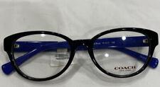 Coach 6069 5282 51-17 Eyeglasses Frames