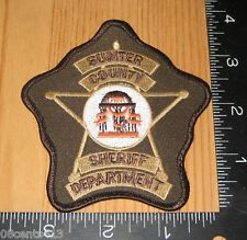 Sumter County Georgia Sheriff Department Cloth Patch Only