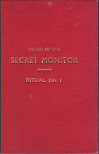 00062. Anon - 'Order of the Secret Monitor (OSM) Ritual. No. 1, Induction' 1965