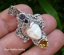 Multi-Stone Sterling Silver Handcrafted Necklaces & Pendants