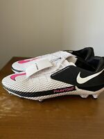 Nike Football Cleats Phantom Gt Academy Flyease Fg / MG Men White Black Pink