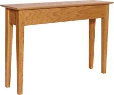 Secret Compartment Sofa / Entry Table - Stain Oak- Rfid Lock -Diversion Safe