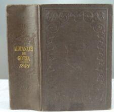 Almanach de Gotha ( Gothaischer Genealogischer Hofkalender ) 1858. Französisch !