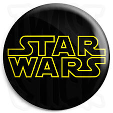 Star Wars Film Title Movie Logo - 25mm Button Badge - George Lucas Stormtroopers