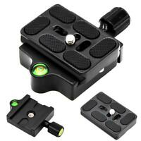 Clamp Quick Release Plate for Monopod Ball Tripod Head Adapter Arca Swiss US!!