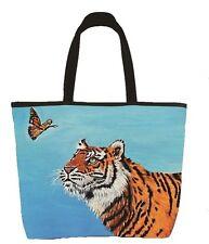 Tiger Handbag, Tote Bag - From My Painting, Wonder