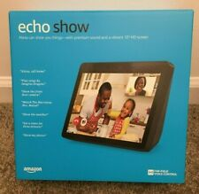 Amazon Echo Show 2nd Generation 10'' w Alexa–  Charcoal, New, Sealed