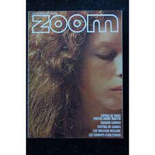 ZOOM MAGAZINE 031 N° 31 FESTIVAL CANNES 1975 WARD RICHARD CORBEN WALTER HIRSCH E