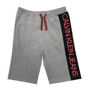 Calvin Klein Boys Knit Shorts Grey