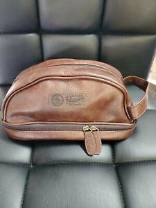 Penguin Mens Shaving/Toiletry Bag Travel Kit Brown New NO TAGS