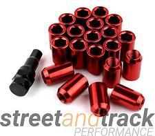 Steel Lug Nuts Stahl Radmuttern ROT M12x1.5 Honda,Toyota,Mazda,Ford,Mitsubishi
