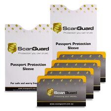 ScanGuard Top Opening RFID Blocking Sleeves - Travel Pack