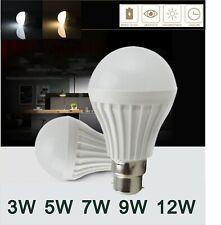 AU E27 B22 Bayonet Screw LED Energy Saving Globe Lamp Bulb 240V 3W 5W 7W 9W 12W