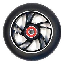 BulletProof Scooter Wheel - Alloy Metal Core - 100mm - ABEC 9 Bearings - BLACK