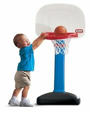 Little Tikes EasyScore Adjustable Kids Basketball Hoop Sturdy Base Toddler Game