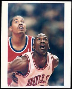 Michael Jordan 1996 BULLS NBA Type 1 Original Color Photo CRYSTAL CLEAR!