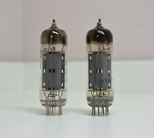 2pcs New 6P14P-EV Matched Pair Gold Grid tube EL84 6BQ5 NOS