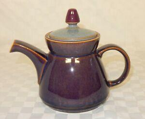 Vintage Denby Purple Storm 1pt Teapot Discontinued