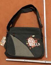 Umhängetasche Schul-Tasche Freizeitasche Schultertasche Grau Street Bag ( BB43 )