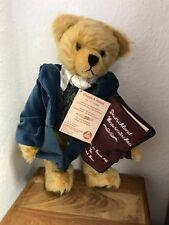 Hermann Teddy Bär Heinrich Heine 41 cm. Limitiert. Unbespielt.