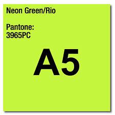feuilles de 80 g/m² papier d'imprimante & photocopieur A5 Coloraction X 500 NEON vert RIO