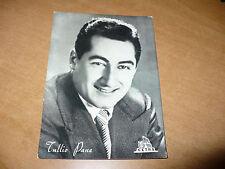 FOTOGRAFIA IN BIANCO E NERO TULLIO PANE CON AUTOGRAFO ORIGINALE 1955